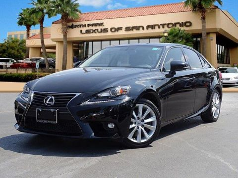L/Certified 2016 Lexus IS 200t 4dr Sdn