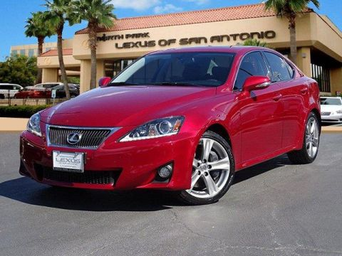 2013 Lexus IS 350 4dr Sdn RWD